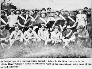 Harry Gleson hurling team