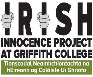 April with the Irish Innocence Project at Griffith College